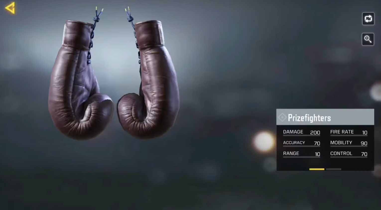 Call of Duty: Mobile Prizefighters stats